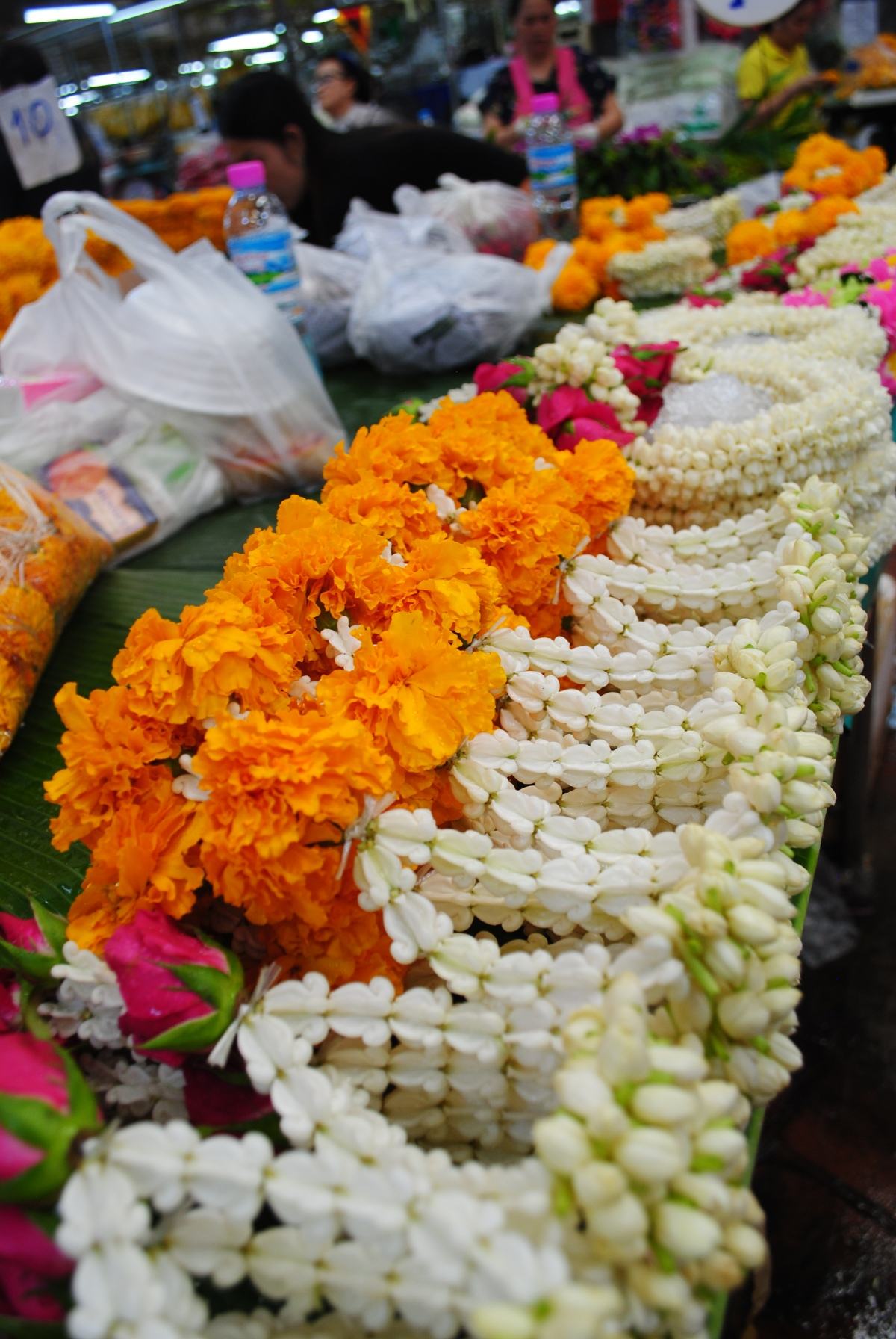 Bangkok's Biggest Flower Market